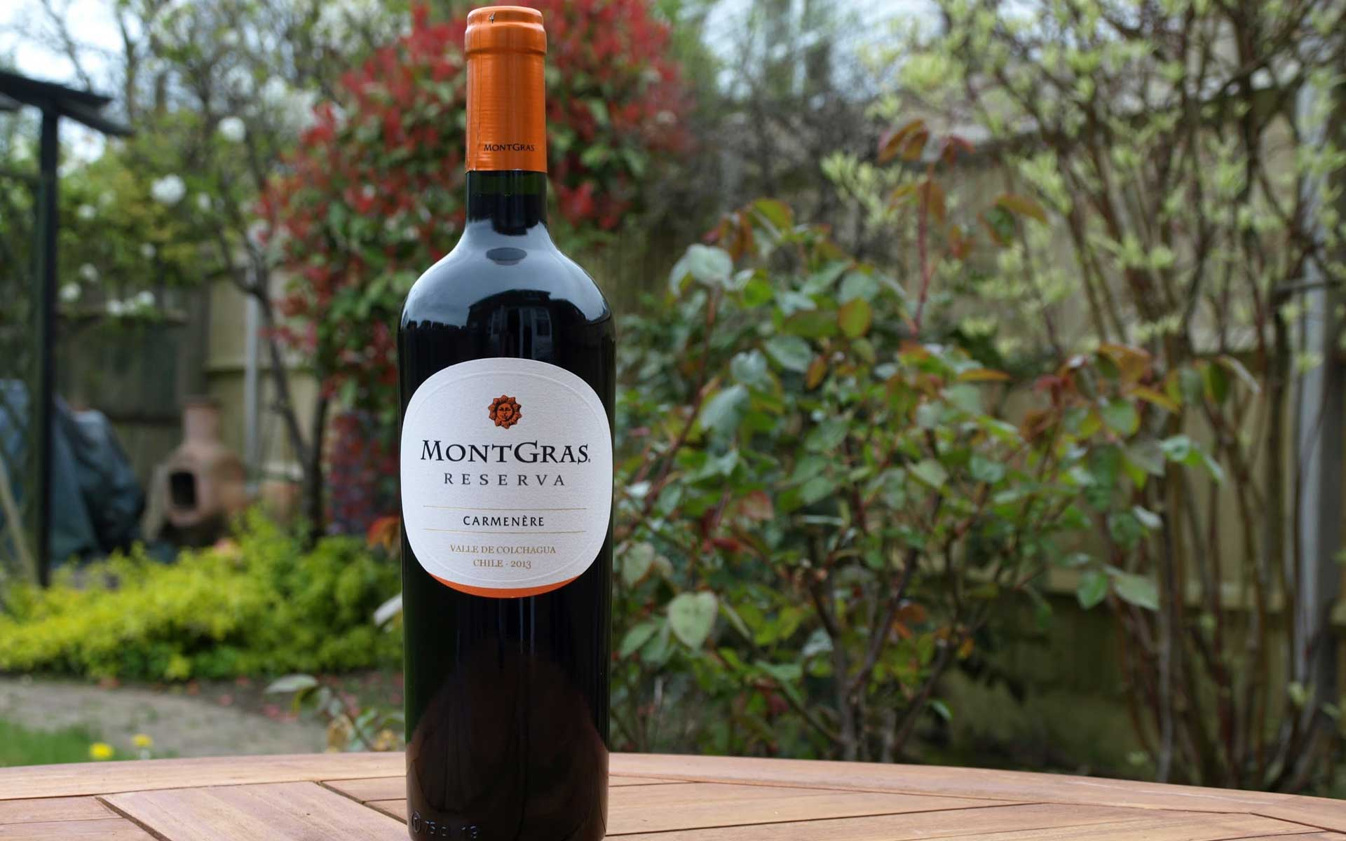 Kết quả hình ảnh cho montgras reserva carmenere